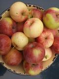 Плодоовощ, сочный, вегетарианский, красный, природа, яблоко, еда, диета, крупный план, земледелие, естественный, зрелое, десерт,  Стоковые Фотографии RF