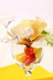 плодоовощ сыра закуски Стоковые Фото