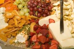 Плодоовощ & сыр Стоковое Фото