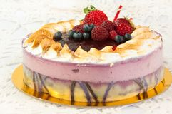плодоовощ торта стоковые изображения rf