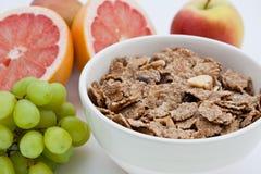 плодоовощ хлопьев завтрака отрубей здоровый Стоковое Фото