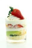 плодоовощ чашки торта Стоковая Фотография
