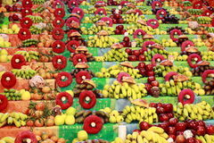 плодоовощ donuts естественный Стоковое Изображение