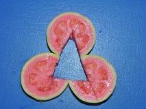 Плоды guava красивого плана красные стоковые фото