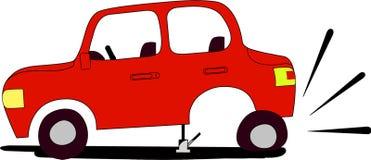 плоская автошина бесплатная иллюстрация