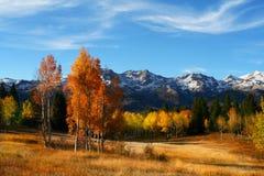 плоская гора Стоковая Фотография