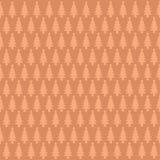Плоская елевая иллюстрация картины дерева Стоковые Фото