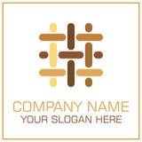 Плоские партер/ламинат логотипа вектора стиля для Настила Компании бесплатная иллюстрация