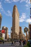 Плоский железный фасад здания 17-ого августа 2015 Завершено в 1902, рассмотрены, что будет одним из первых всегда строимых небоск стоковая фотография rf
