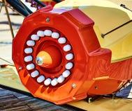 Плоский крупный план двигателя от езды в Wildwood NJ Стоковая Фотография RF