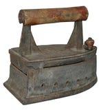 плоский металл утюга старый стоковые изображения rf