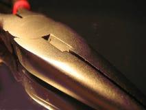 Плоскогубцы металла needlenose Стоковые Изображения RF