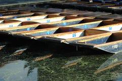 плоскодонки cambridge Стоковые Изображения
