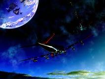 Плоское летание 11 Стоковая Фотография RF