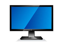 плоское экран компьютера Стоковое Изображение RF
