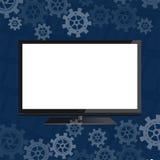 Плоское экран Стоковые Изображения RF