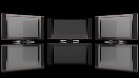 плоское экран tv Стоковая Фотография RF