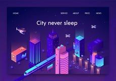 Плоскому знамени не пишут город никогда спать равновеликий иллюстрация вектора