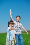 плоскости малышей бумажные Стоковая Фотография RF