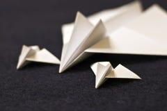 плоскости семьи бумажные Стоковое Изображение RF
