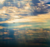 плоскость воздуха Стоковое Фото