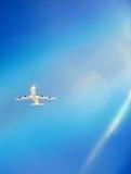 плоскость воздуха стоковое фото rf