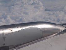 плоскость двигателя Стоковые Изображения