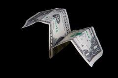 плоскость доллара Стоковые Фото