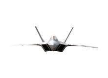 плоскость изолированная самолет-истребителем Стоковые Фото
