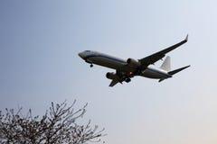 плоскость летания Стоковые Фото