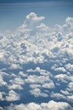 плоскость облаков Стоковое Изображение RF