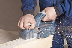 плоскость плотника электрическая Стоковое Изображение RF