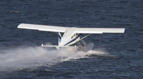 плоскость посадки поплавка Стоковая Фотография RF