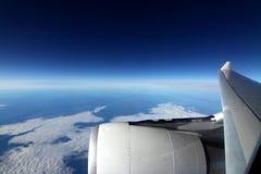 плоскость Стоковая Фотография RF