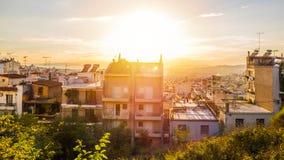 Плотное городское развитие стоковая фотография rf