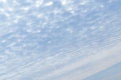 Плотное облако как земля крыло взгляда плоскости двигателя двигателя видимое Стоковое Изображение RF