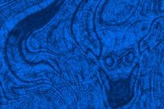 плотное строение абстрактной предпосылки голубое вверх по стене Стоковая Фотография