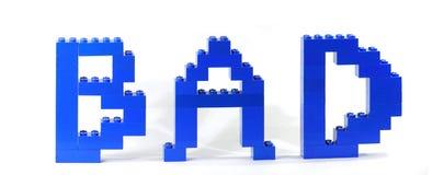 плохая игрушка lego Стоковые Изображения