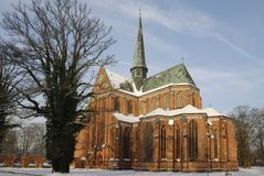 плохая монастырская церковь doberan Стоковое фото RF