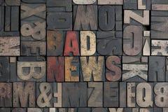 плохая новость Стоковое Изображение RF