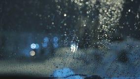 Плохая погода в городе видеоматериал