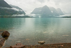 плохая погода гор Стоковые Фото