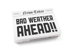 Плохая погода вперед Стоковое Изображение RF