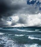 плохая погода моря Стоковые Изображения RF