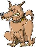 плохая собака иллюстрация вектора