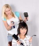 плохие волосы дня Стоковое Изображение RF