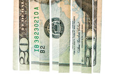 плохие финансовые инвестиции доллара кризиса Стоковое фото RF