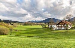 Плохое Kohlgrub в Баварии, Германии Стоковые Изображения RF