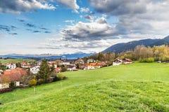 Плохое Kohlgrub в Баварии, Германии Стоковое Фото
