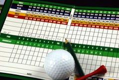 плохой гольф дня Стоковая Фотография